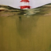 faro de las Berlengas | 100 x 100 cm | óleo sobre tela