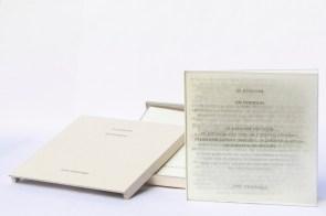 Libro de artista · as palavras - las palabras · Texto José Saramago