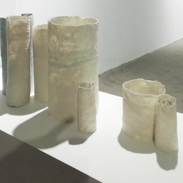 Ausencia | cilindros de porcelana