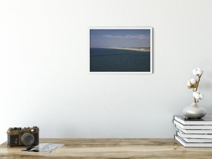 De Pier Hoek van Holland landscape wall art picture. Style PT10