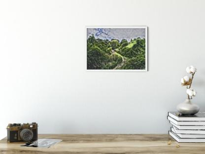 Gordon Gardens Wall Art Picture interior sample