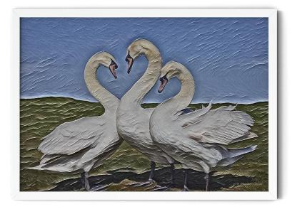 PT00: Love Is in the Air Wall Art Picture style: Classic oil on Canvas