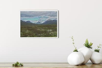 """Guardians of the Loch. Classic oil wall art picture (11.7"""" x 16.5"""")"""