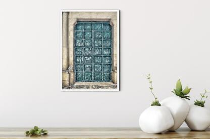 "Enter to See Our Lady from Damascus wall art picture (11.7""x16.5"")"