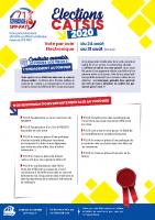 Elections CATSIS 2020
