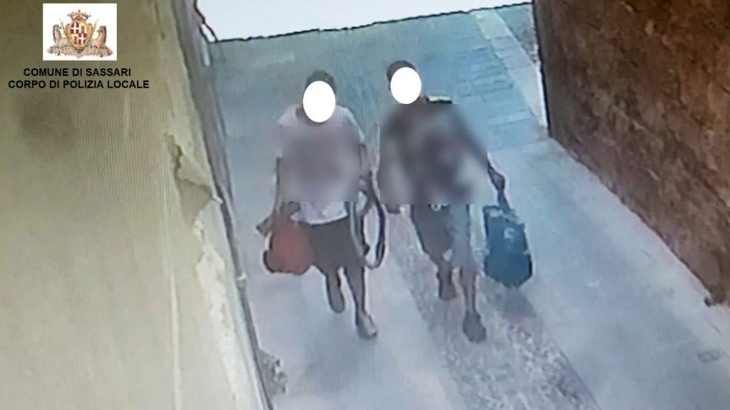 Il loro furto aveva lasciato al buio il centro storico di Sassari: in carcere 2 giovani