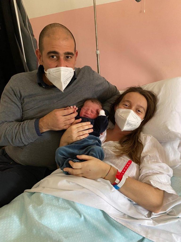Si chiama Giorgia la prima nata a Sassari, Jacopo è l'ultimo del 2020