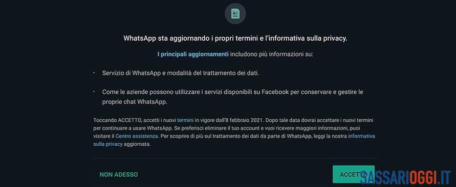 Milioni di utenti in fuga da WhatsApp dopo la modifica alle regole sulla privacy