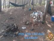 Campeggio abusivo Porto Ferro