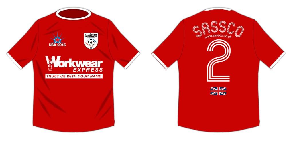 USA Tour soccer shirt for New York City