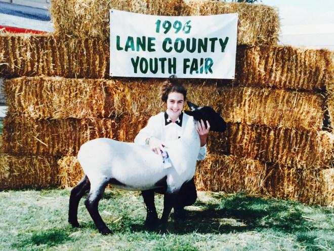 Justin Boots & 4H Lamb