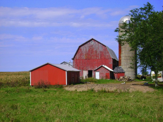 Wisconsin Gambrel Roofed Barn