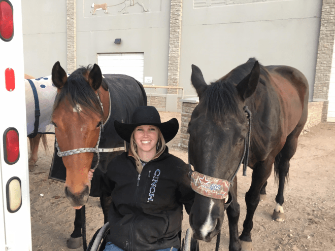 Amberley Snyder Horse Love