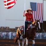 American Flag Rodeo Run