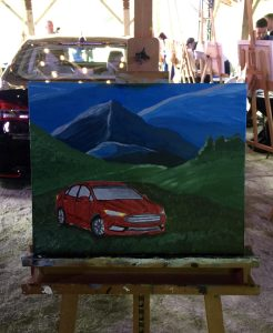 Ford Fusion Art