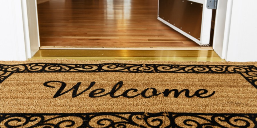 Welcome Mat - Welcome to my product review blog