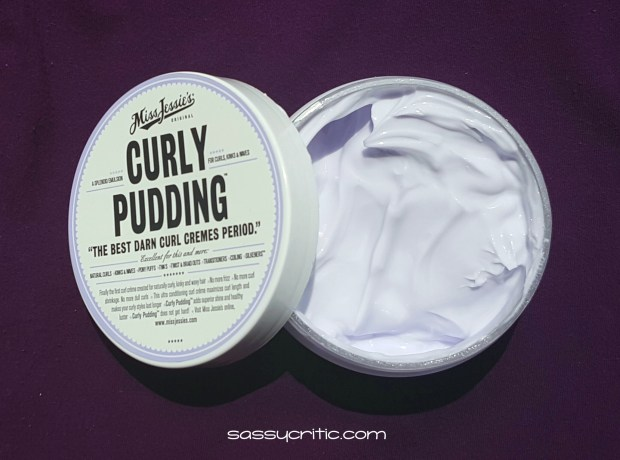 Miss Jessie's Curly Pudding - Sassycritic.com review