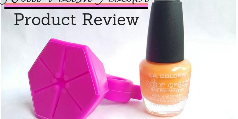 Nail Polish Holder Review Cover - sassycritic.com