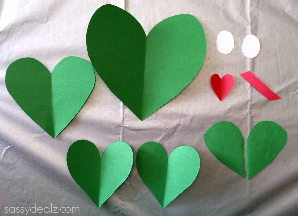 Paper Heart Frog Craft For Kids Crafty Morning