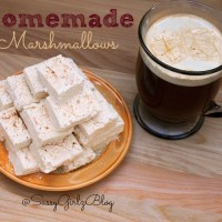 Homemade Marshmallows - Eggnog Flavored Marshmallows Recipe