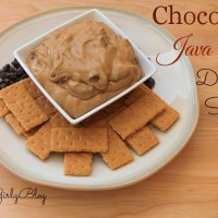 Mom's Coffee Break Snack - Chocolate Java Chip Dipping Sauce