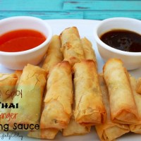 Spicy Ginger Spring Roll Dipping Sauce - Perfect Party Appetizers