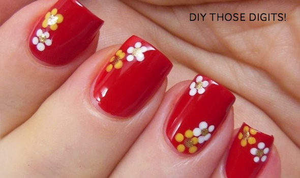 Diy Chinese New Year Manis Two Easy How To S Sy Hong Kong Inspiring Nail Art Designs