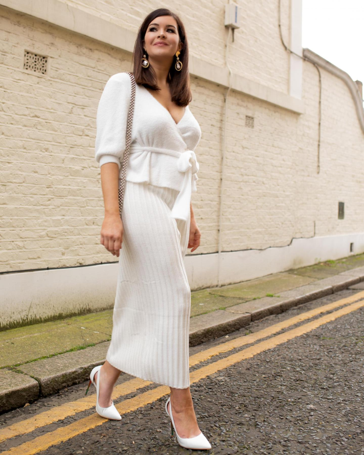 Winter To Spring: Textured White Co-ords