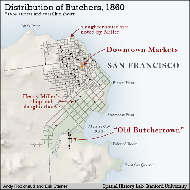 Spatial History: GIS Map-Making and Historical Research