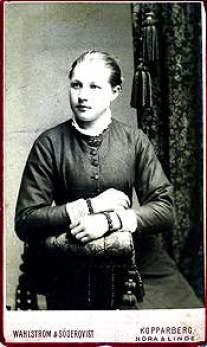 Anna Larsdotter Hann's Swedish Portrait