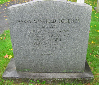 Tombstone Tuesday: Major Harry Winfield Schenck