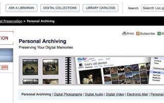 Family History Digital Preservation