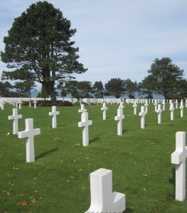 Normandy American Cemetery and Memorial, 6 Oct 201