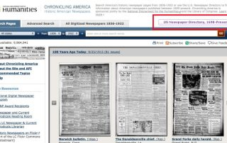Tuesday's Tip: Updates to Chronicling America