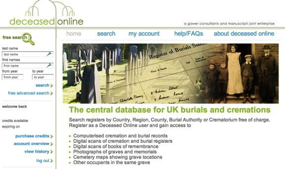 DeceasedOnline.com.uk