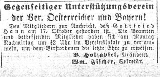 HannGottfriedObitIllinoisStaats-Zeitung2