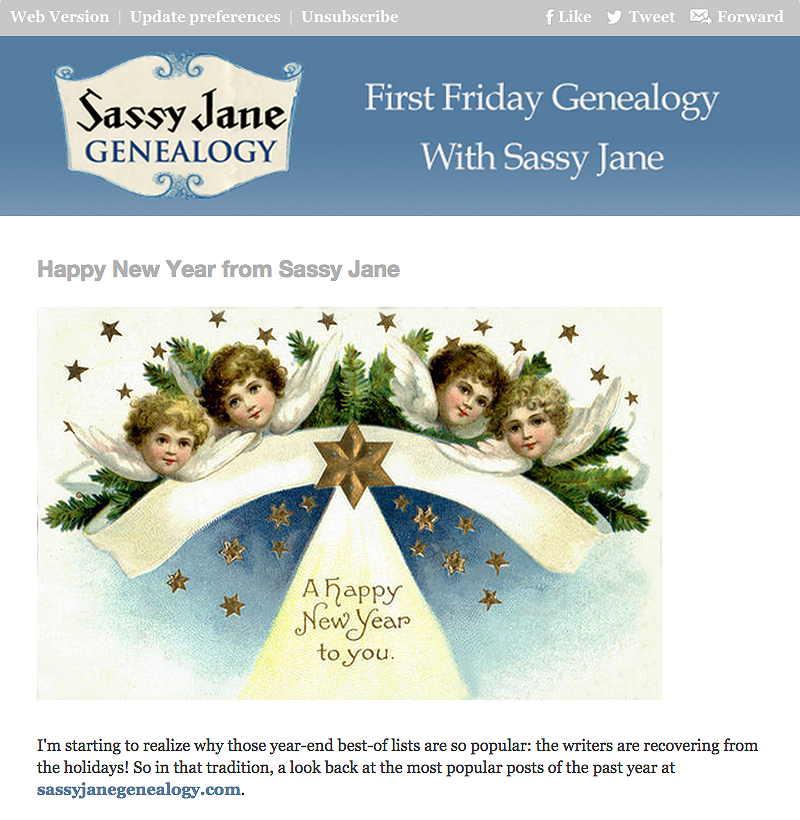 First Friday Genealogy