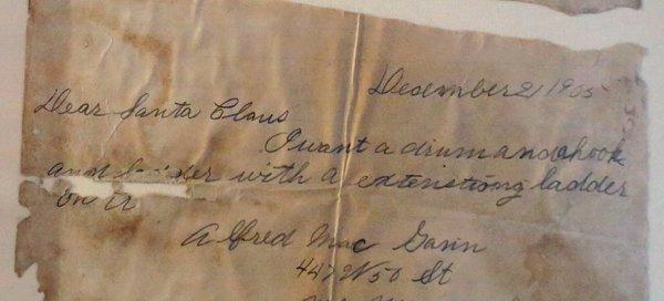 Letters Santa Missed Long Ago