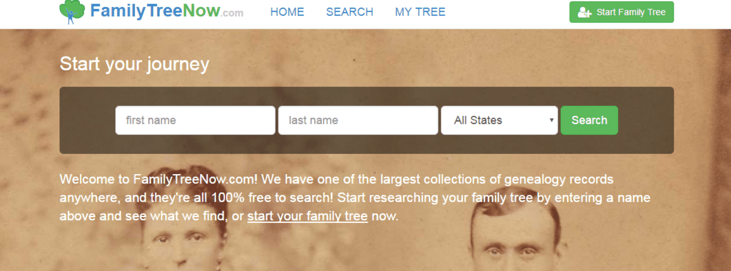 You Are in FamilyTreeNow.com Whether or Not You Want to Be
