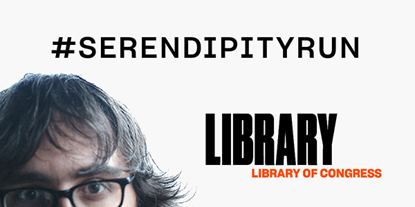 Serendipity Run at the Library of Congress
