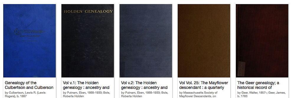 Genealogy Books from 1923 Now Available   Sassy Jane Genealogy