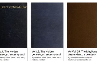 Genealogy Books from 1923 Now Available