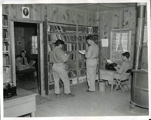 The Text Message NARA National Archives CCC Camp Library