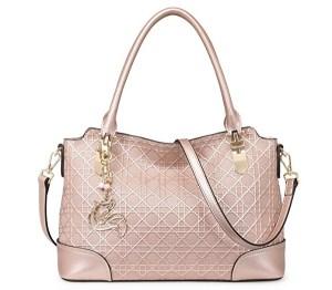 MATAGA Rose Gold Handbag