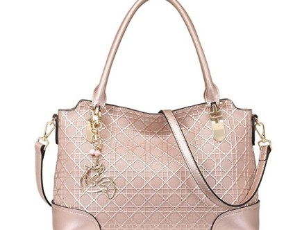 MATAGA Rose Gold Handbag