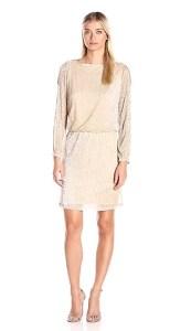 MSK Long Sleeve Cold Shoulder Dress
