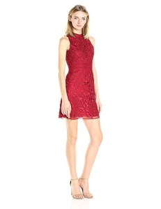 Parker Women's Caddie Dress in cranberry red