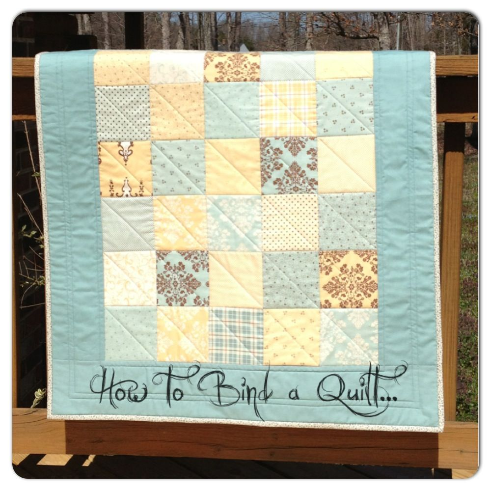 How To Bind A Quilt The Sassy Quilter