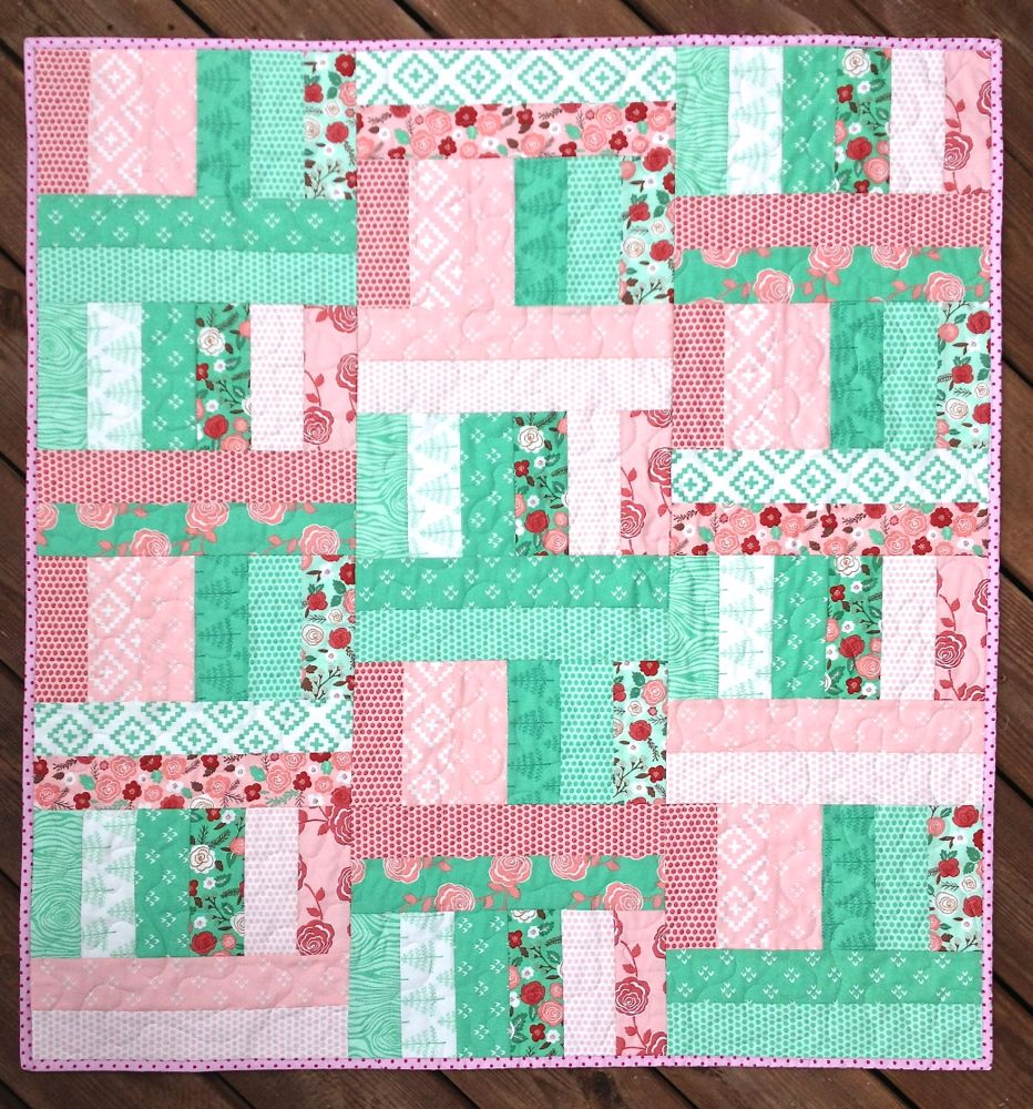 Jelly Roll Jam II, The Sassy Quilter