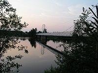 Suomen pisin riippusilta